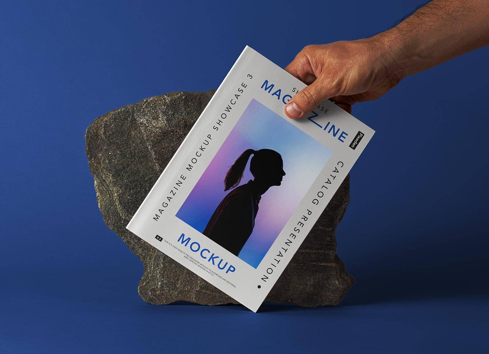 Free-Hand-Holding-Magazine-Title-Mockup-PSD