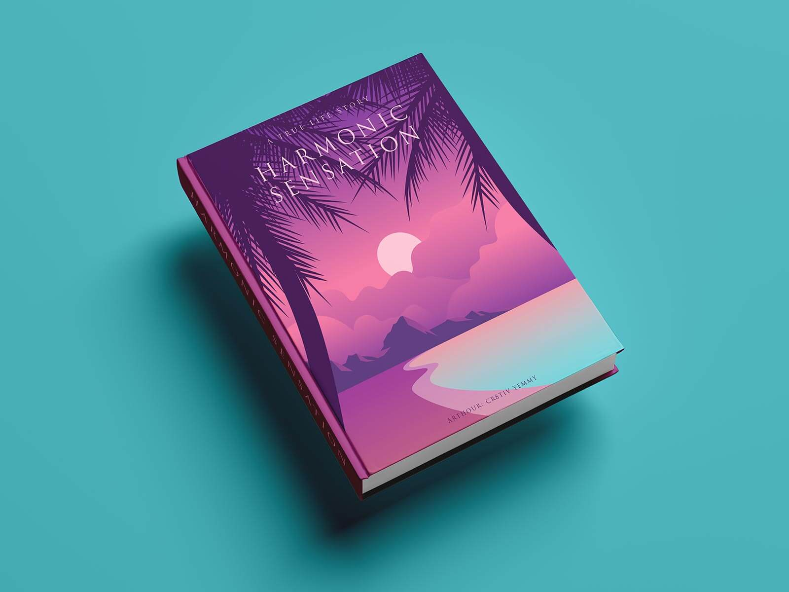 Free Hardcover Premium Book Mockup PSD Set