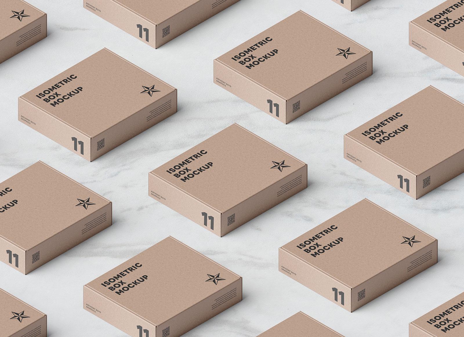 Free-Kraft-Packaging-Box-Grid-Mockup-PSD