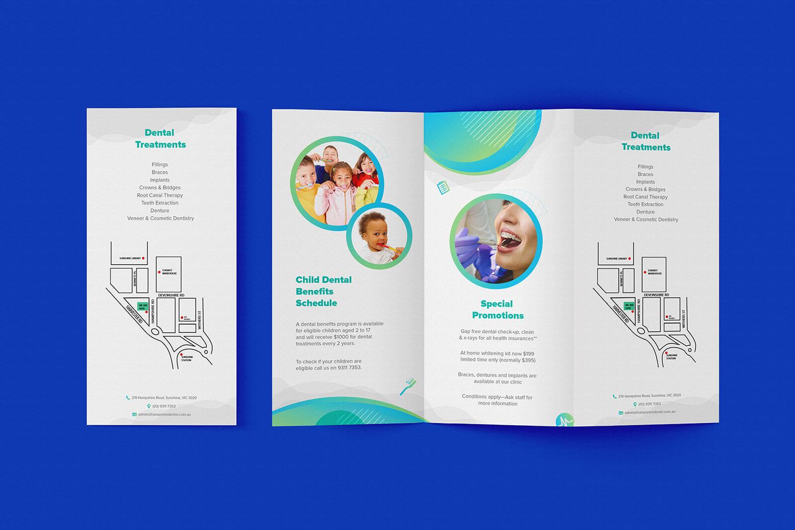 7 Free High Quality Tri-Fold Brochure PSD Mockups (1)