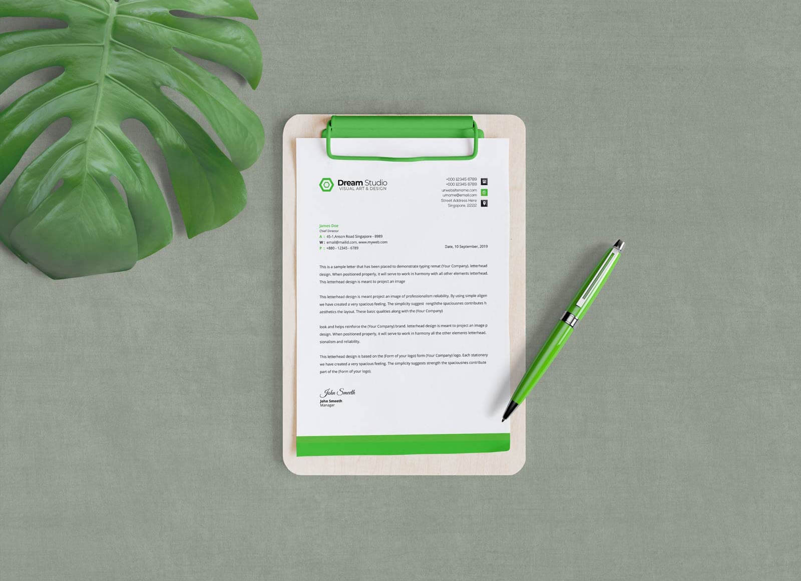 Free-A4-Size-Clipboard-Mockup-PSD-for-Official-Documents-2