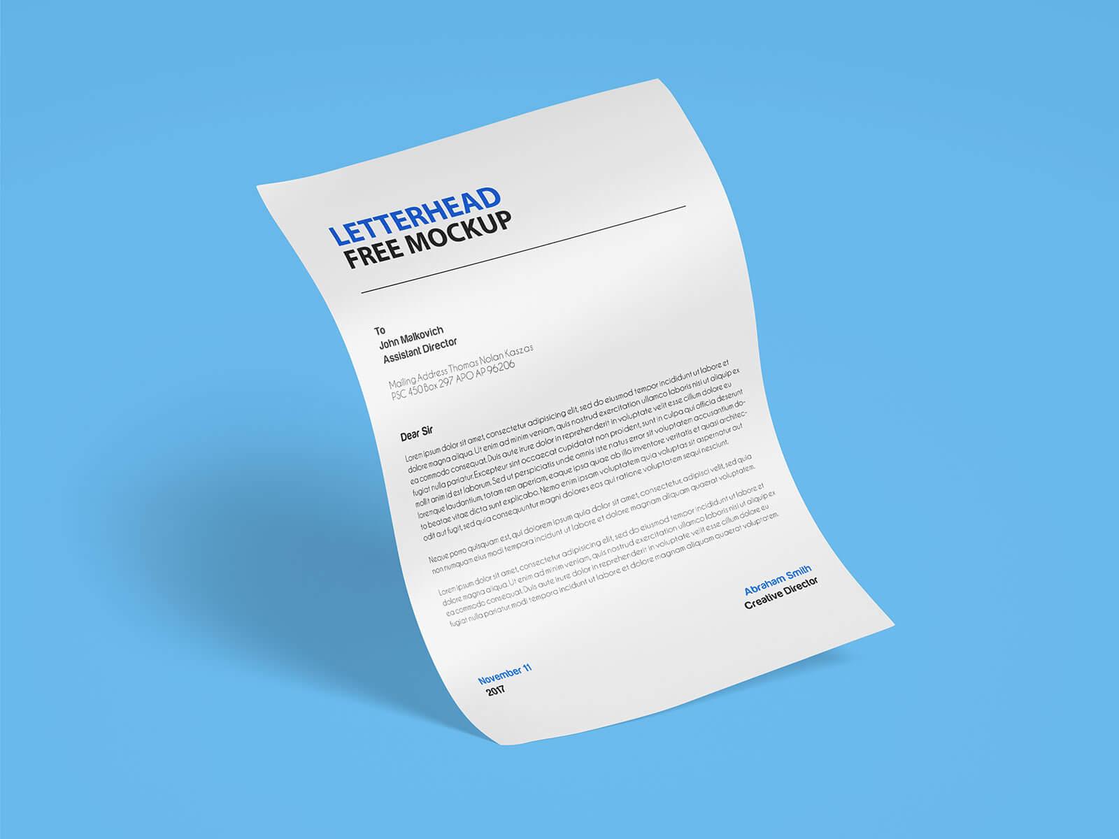 Free-A4-Size-Letterhead-Paper-Mockup-PSD-Set-2