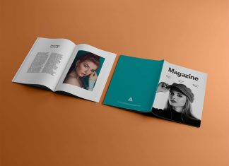 Free-A4-Title-&-Inner-Pages-Magazine-Mockup-PSD-File