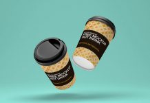 Free-Floating-Dual-Paper-Coffee-Cup-Mockup-PSD