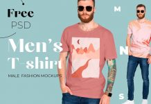 Free-Men's-T-shirt-Mockup-PSD-for-Graphic-Tees-3