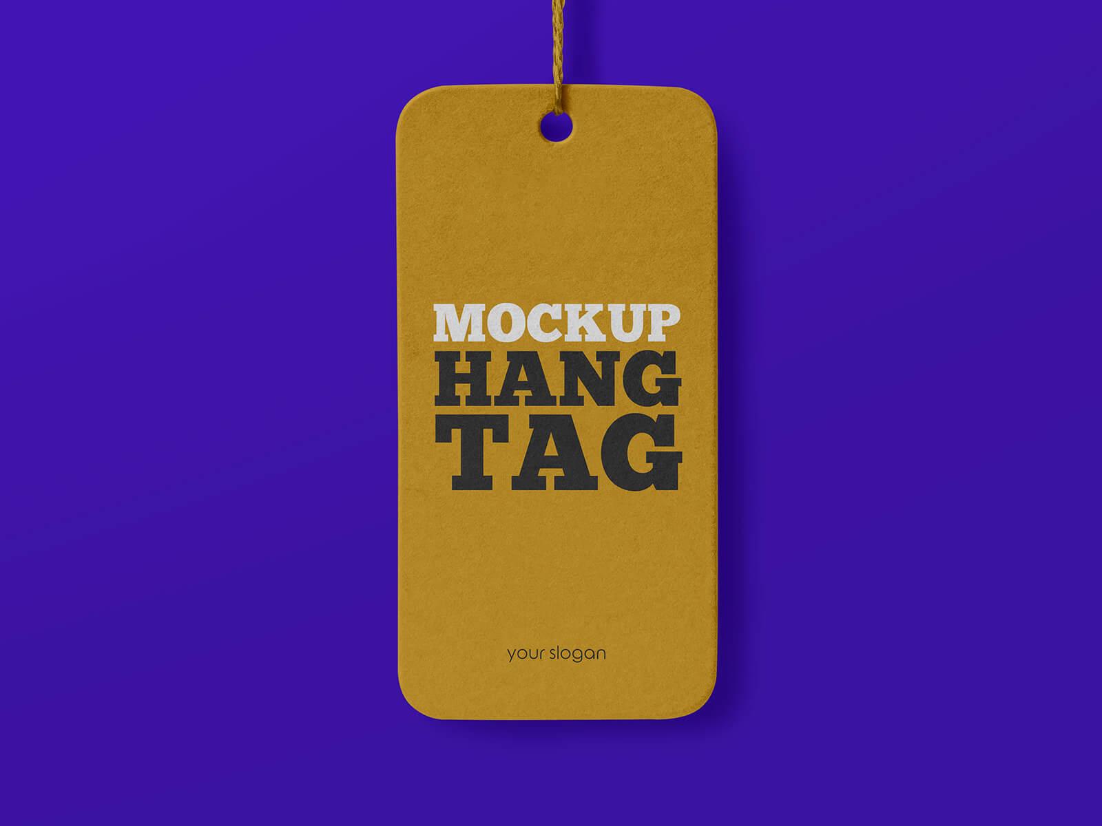 Free Clothing Label Hang Tag Mockup PSD Set (1)