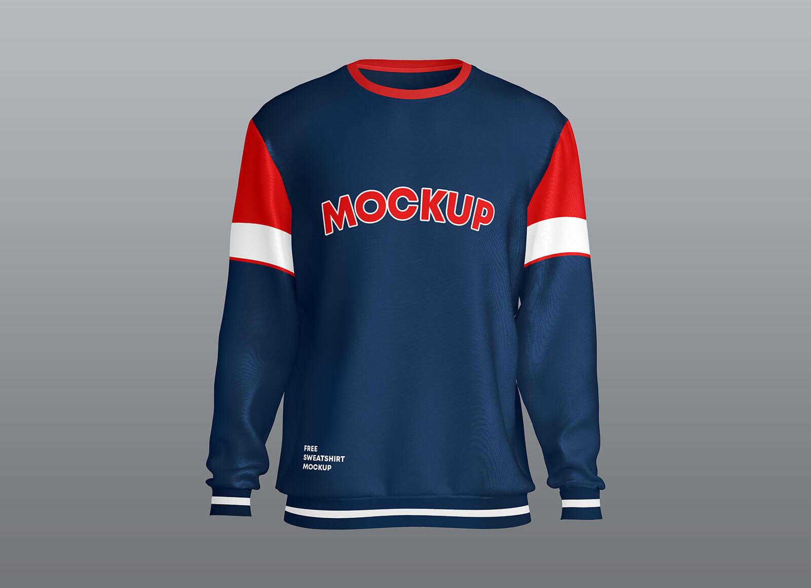 Free-Crew-Neck-Full-Sleeves-Sweatshirt-Mockup-PSD-Set