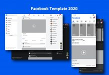 Free-Mobile-&-Desktop-Facebook-Post-Template-2020-Mockup-PSD-Dark-&-White-Mode-3