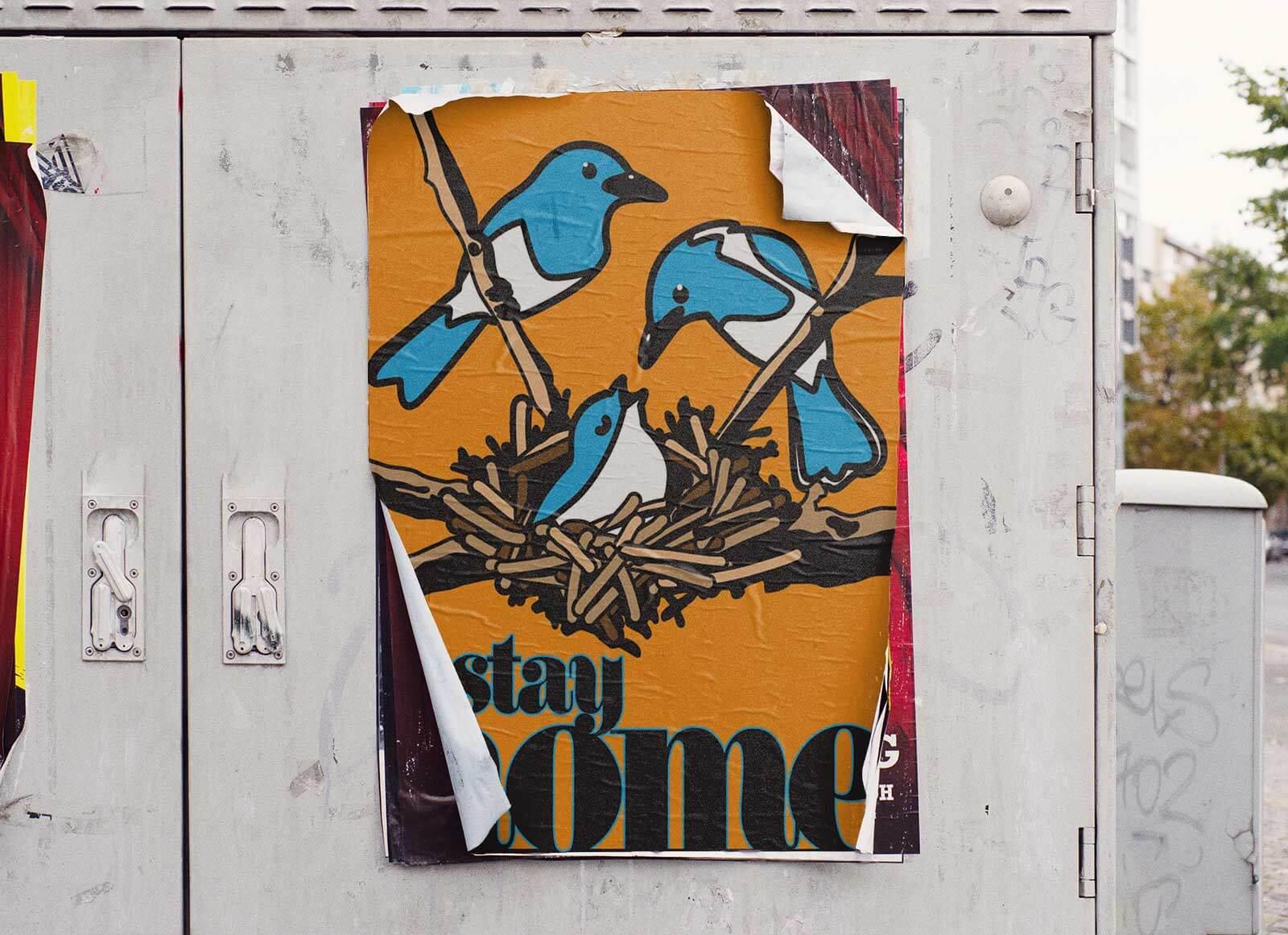 Free-Photorealistic-Street-Poster-Mockup-PSD