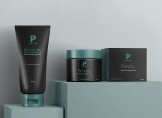 Free-Cosmetic-Cream-Jar-&-Tube-Mockup-PSD-(3)