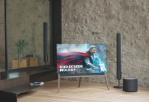 Free-Edge-To-Edge-TV-Full-Screen-LCD-Mockup-PSD