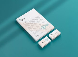 Free-Isometric-Stacked-Letterhead-&-Business-Card-Mockup-PSD