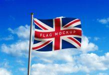 Free-Waving-Country-Flag-Mockup-PSD-File