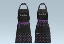 Free-Men--Women-Cooking-&-Baking-Chef-Apron-Mockup-PSD-Set