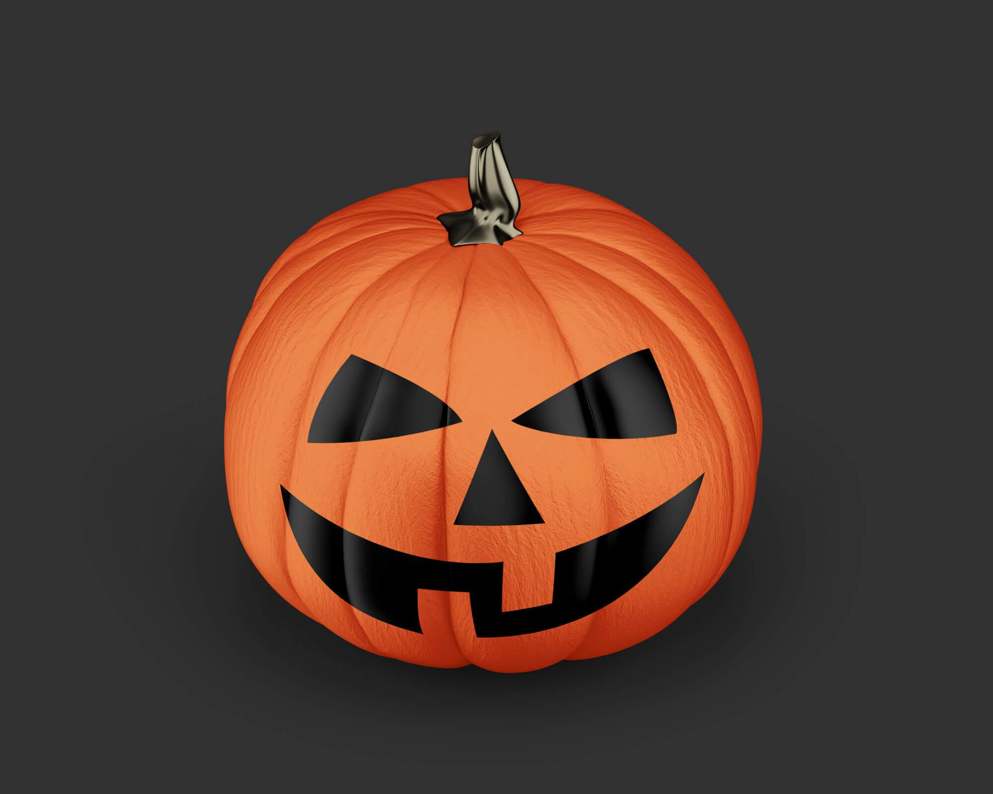 Free-Painted-Halloween-2020-Scary-Pumpkin-Mockup-PSD-2