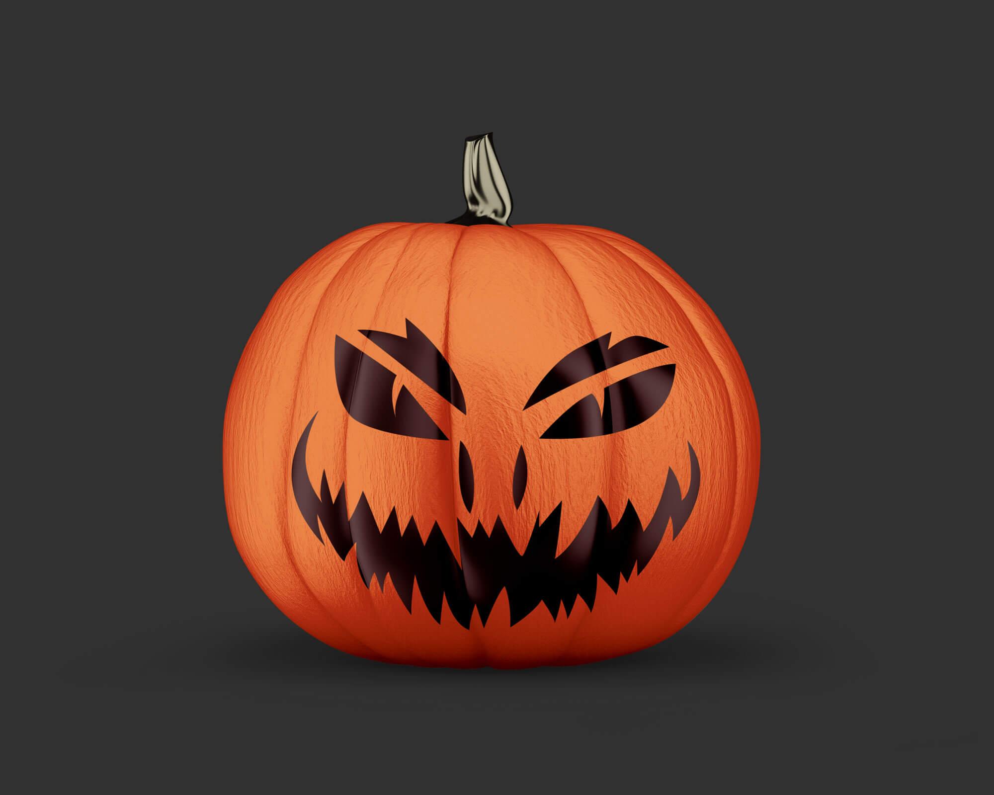 Free-Painted-Halloween-2020-Scary-Pumpkin-Mockup-PSD