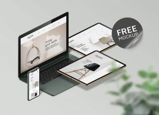 Free-Responsive-Web Design Devices Mockup PSD