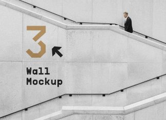 Free-Stairs-Wayfinding-Wall-Mockup-PSD