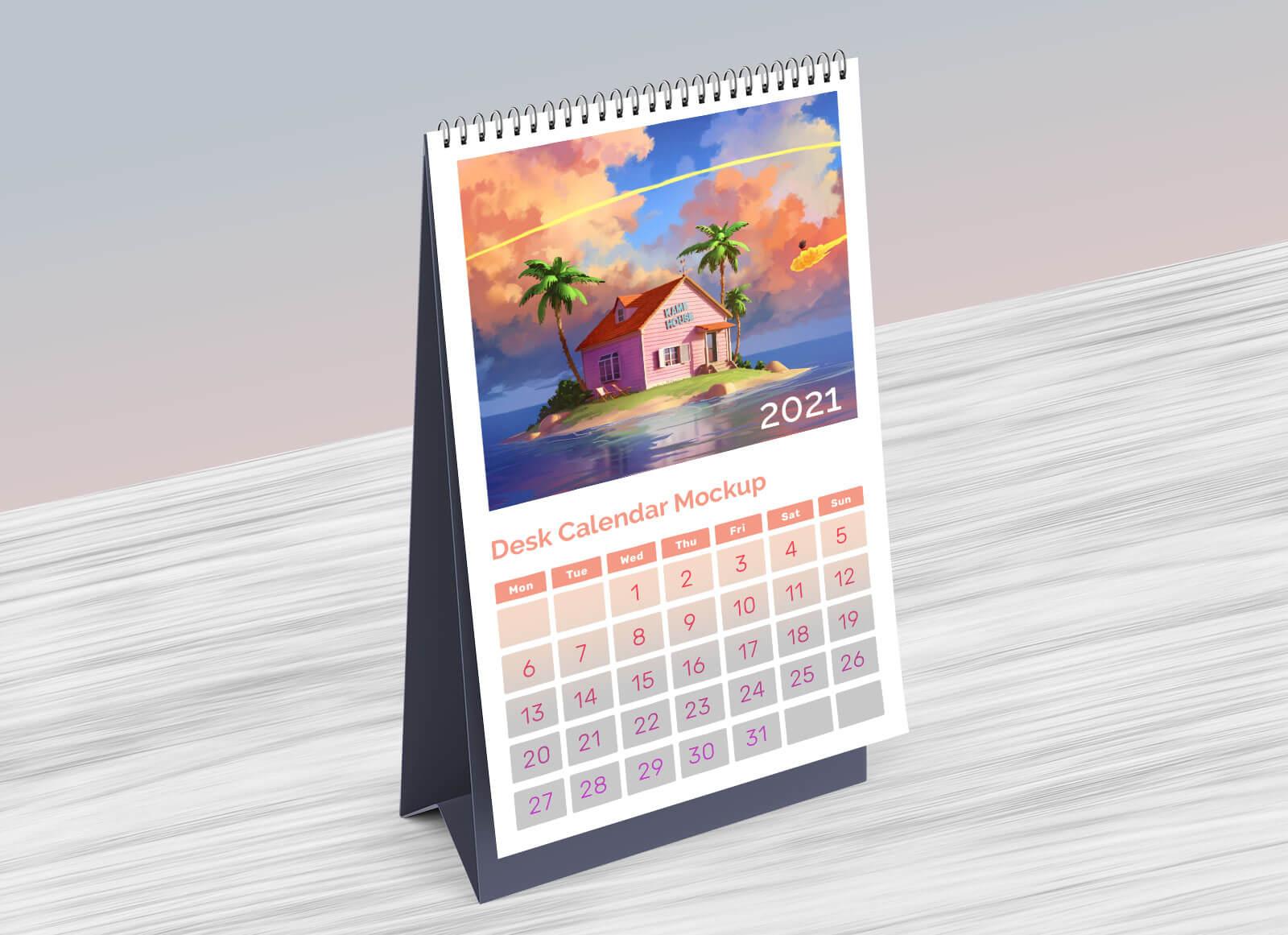 Download Template Kalender 2021 Psd - Celoteh Bijak