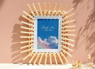 Free-Wooden-Photo-Frame-Poster-Mockup-PSD-File