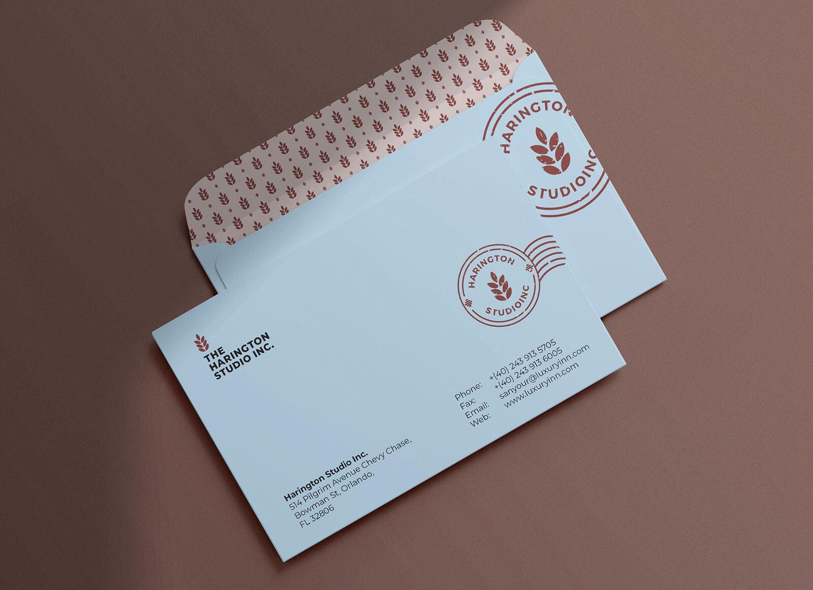 Free-Simple-Envelope-Mockup-PSD