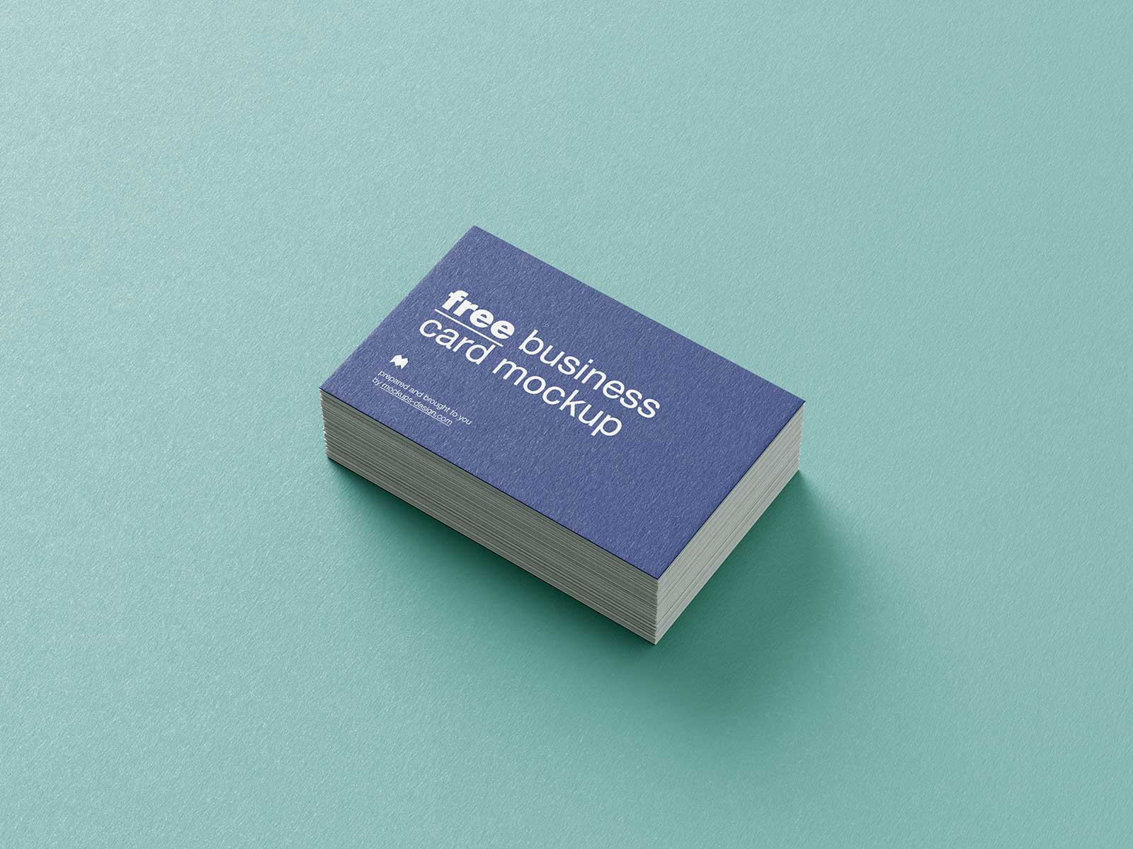 Free Textured Business Card Mockup PSD Set (1)