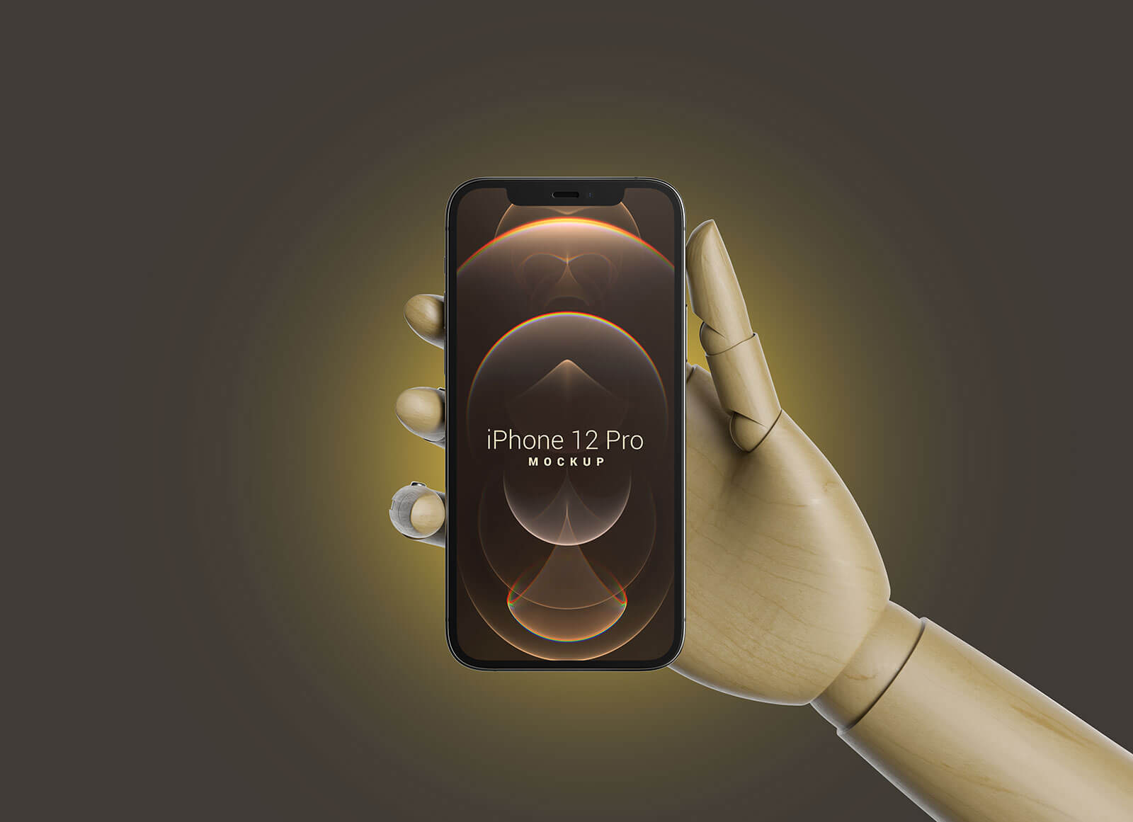 Free-Wooden-Hand-Holding-iPhone-12-Pro-Mockup-PSD