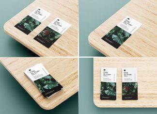 Free DL Flyer Leaflet Mockup PSD Set (6 Templates) (1)