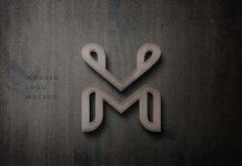 Free-3D-Wooden-Logo-Mockup-PSD-2