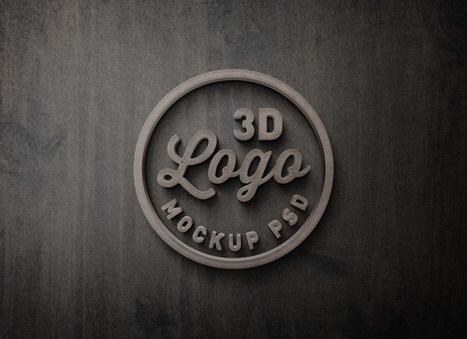 Free-3D-Wooden-Logo-Mockup-PSD