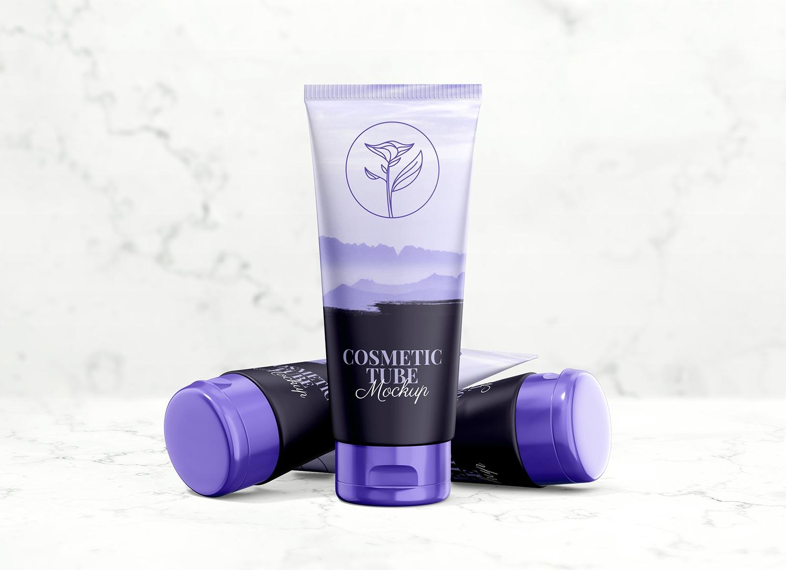 Free-Cosmetic-Cream-Tube-Presentation-Mockup-PSD
