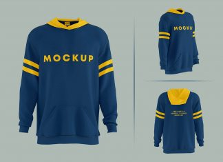 Free Full Sleeves 3D Pullover Mockup PSD Set (4)
