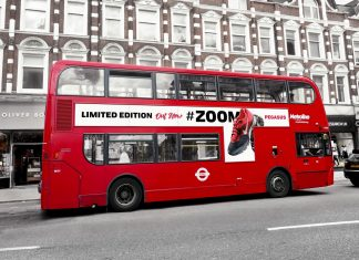 Free-Metroline-London-Bus-on-Suburban-Street-Mockup-PSD (1)