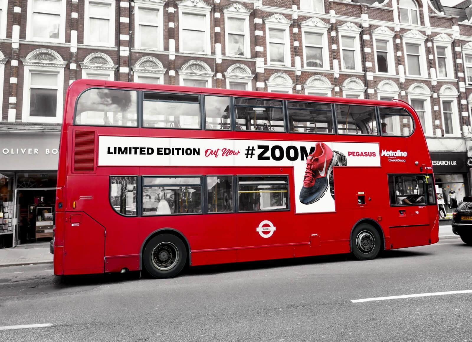 Free-Metroline-London-Bus-on-Suburban-Street-Mockup-PSD (1)