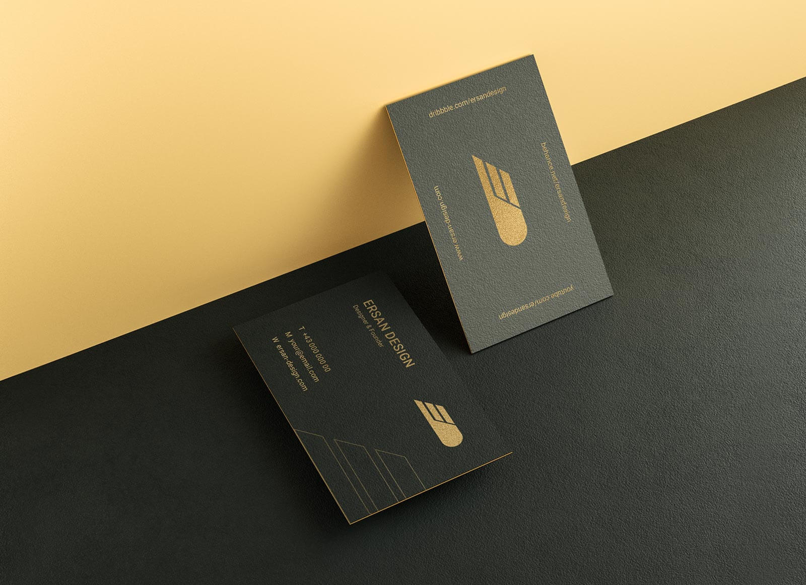 Free-Textured-Gold-Foil-Business-Card-Mockup-PSD