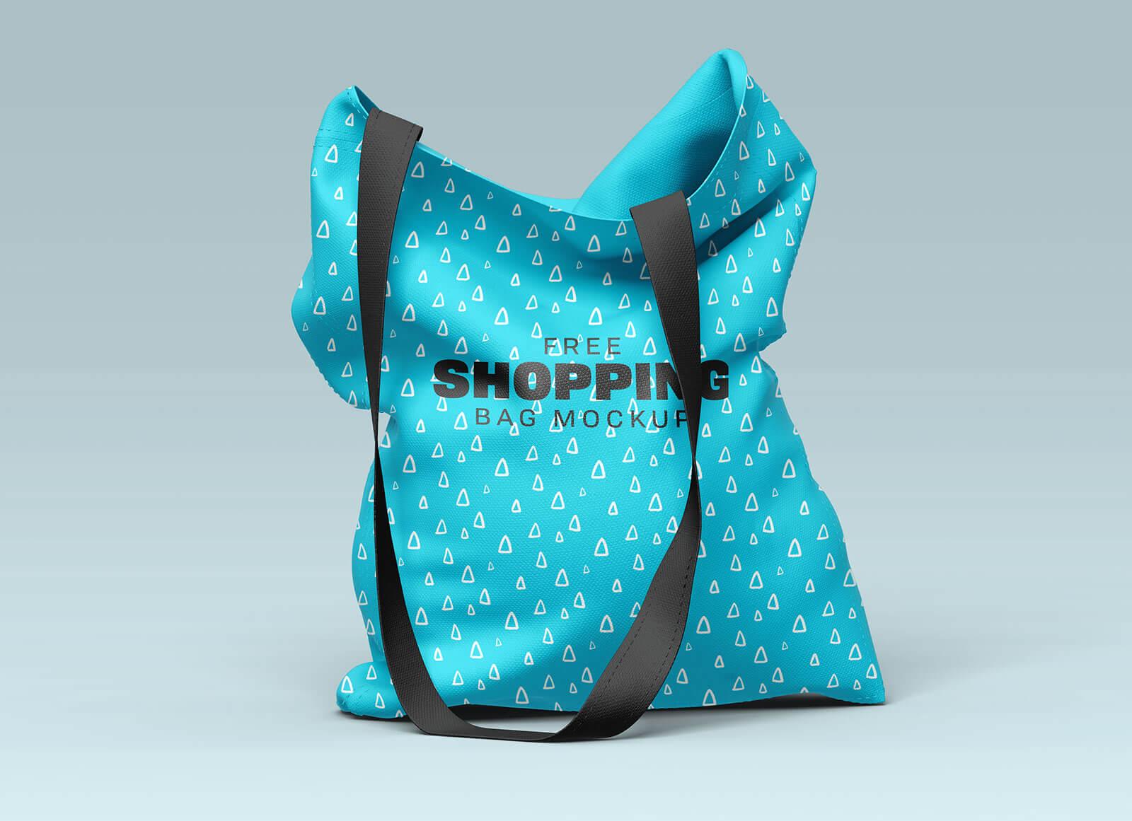 Free Eco-Friendly Shopping Bag Mockup Set (1)
