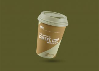 Free-Gravity-Paper-Coffee-Cup-Mockup-PSD-File