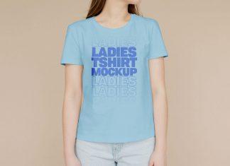 Free-Ladies-T-Shirt-Mockup-PSD
