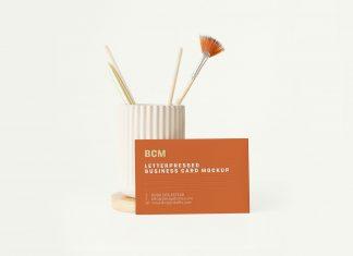 Free-Minimalist-Letterpress-Business-Card-Mockup-PSD