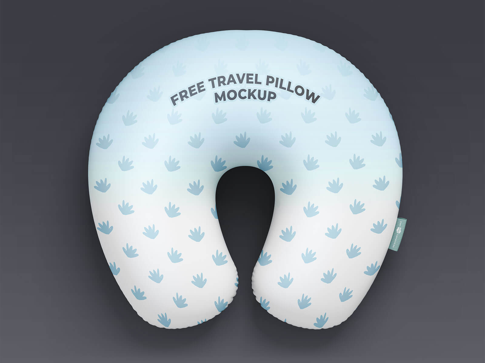 Free Polyfill Neck Pillow Mockup PSD Set
