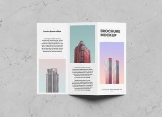 Free-Single-Side-Tri-Fold-Brochure-Mockup-PSD