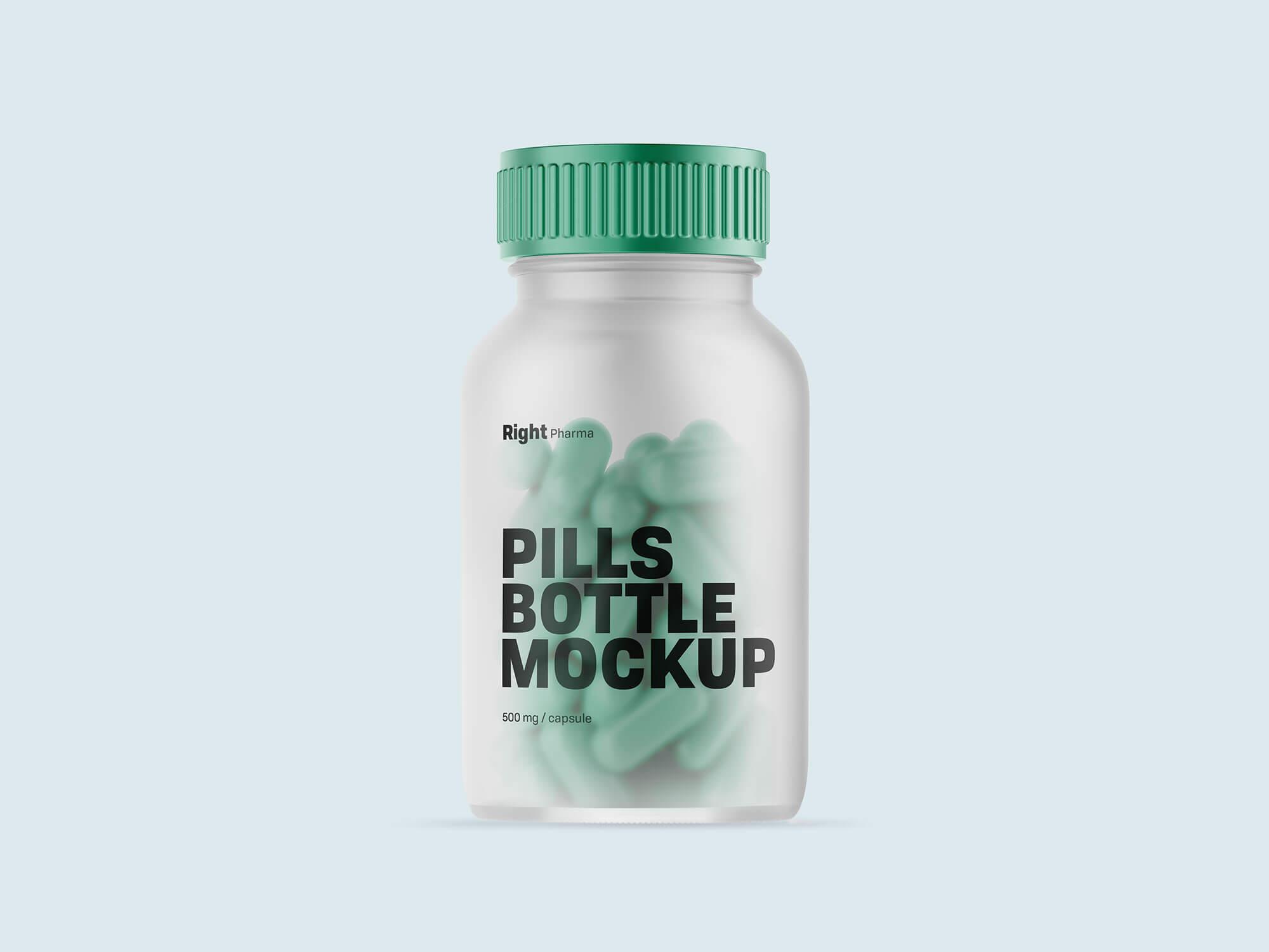 Pills-Bottle-Mockup-PSD
