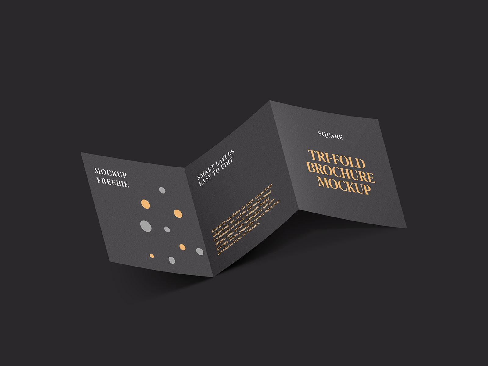 Free-Dark-Square-Tri-fold-Brochure-Mockup-PSD