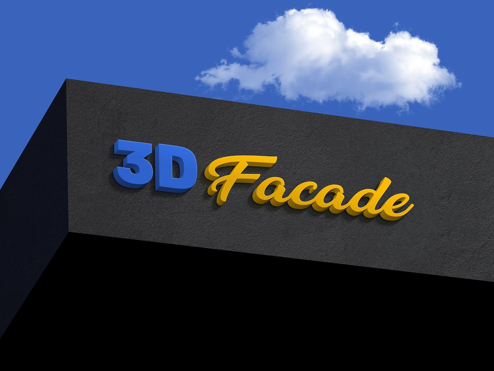 Free-Facade-Shop-Sign-3D-Logo-Mockup-PSD