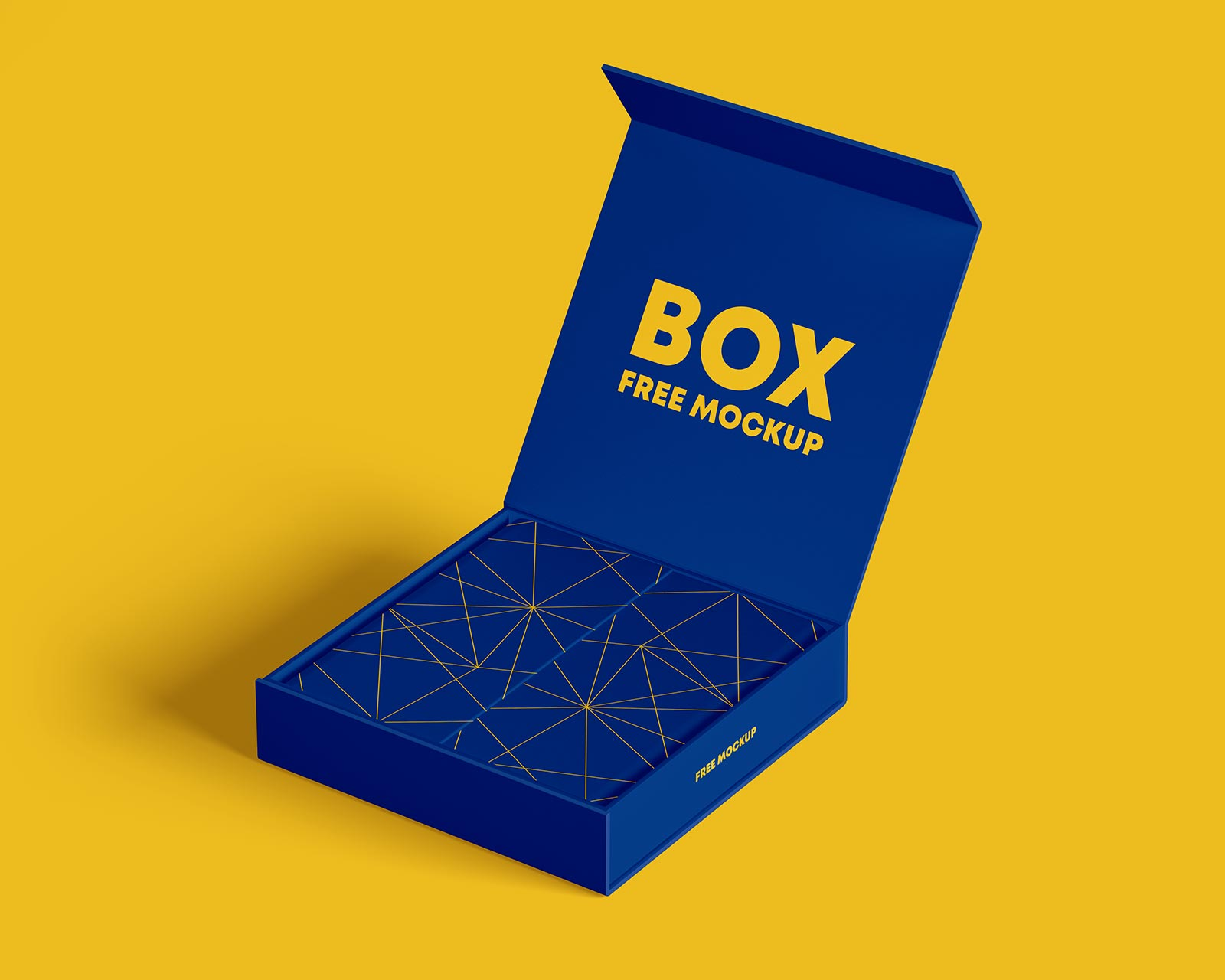 Free Product Box Mockup PSD Set (1)