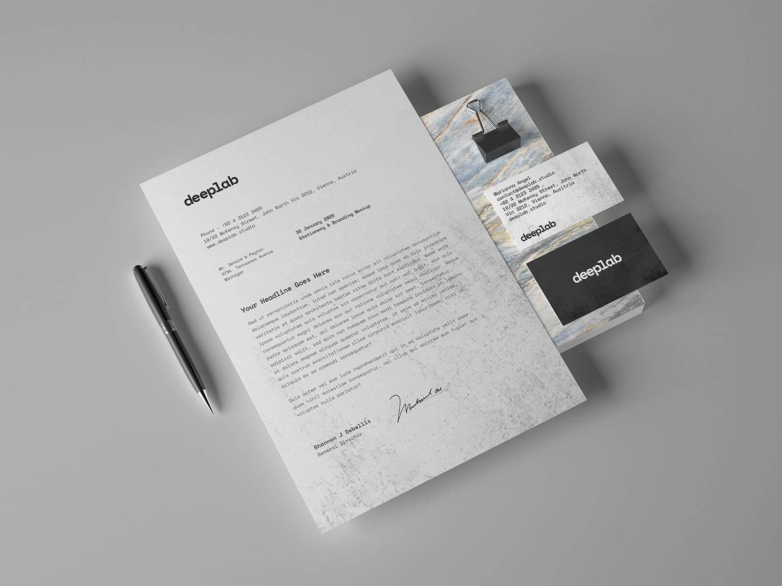 Free-Simple-Business-Card-&-Letterhead-Stationery-Mockup-PSD-Set-(1)