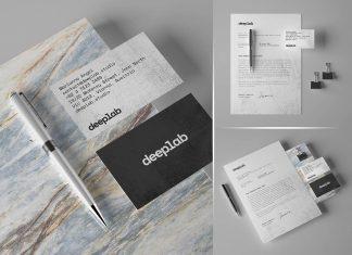 Free-Simple-Business-Card-&-Letterhead-Stationery-Mockup-PSD-Set-(4)