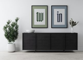 Free-Twin-Frame-Poster-Mockup-PSD