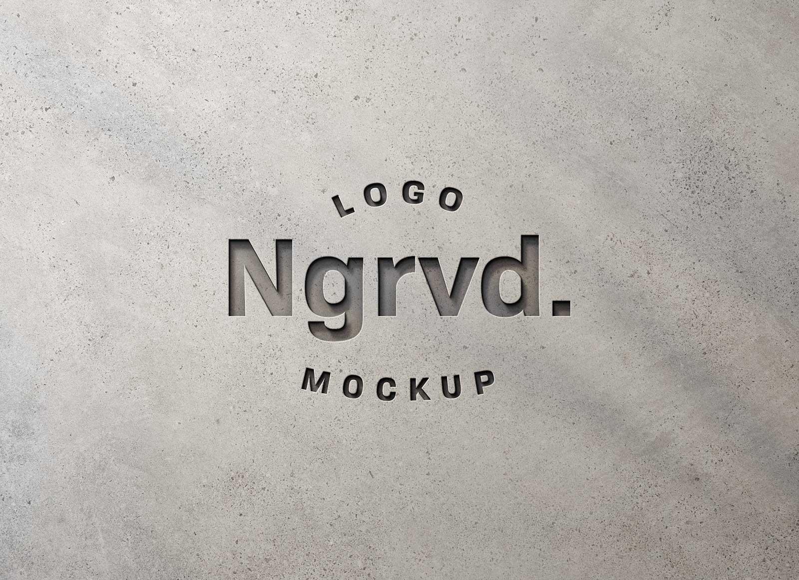 Free-Wall-Engraved-Logo-Mockup-PSD