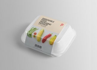 Free-Disposable-Take-Away-Food-Packaging-Mockup-PSD